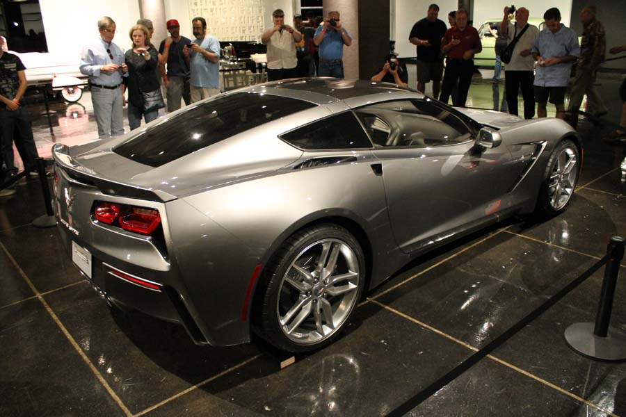 C7 Corvette Reveal at the Petersen