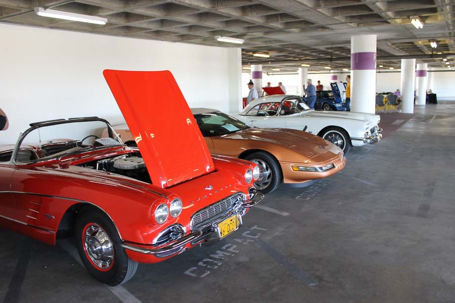 Vette Parking Only: Corvettes Descend on the Petersen!