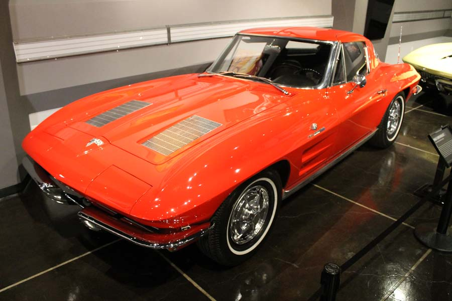 Historic Vettes on Display at the Petersen for Corvette's 60th Anniversary