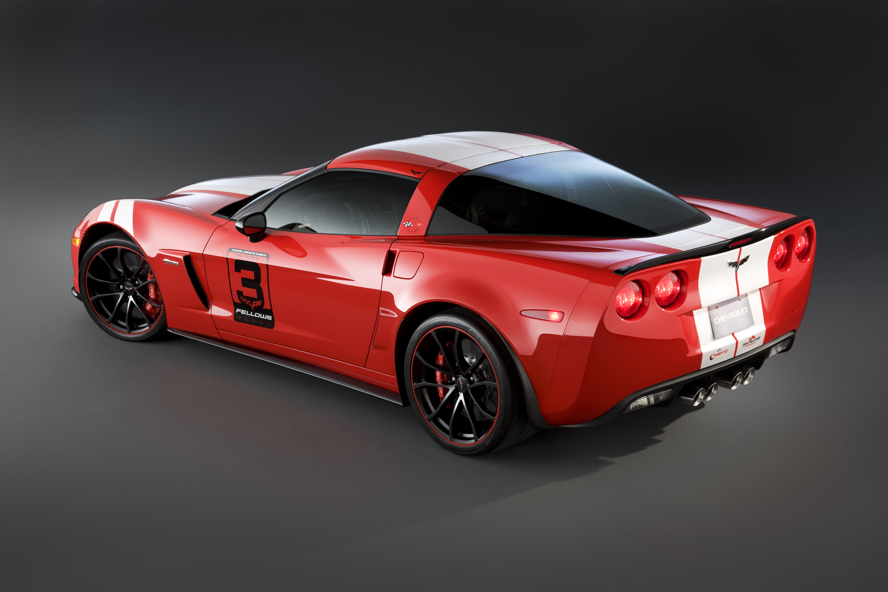 Ron Fellows Tribute Corvette Z06