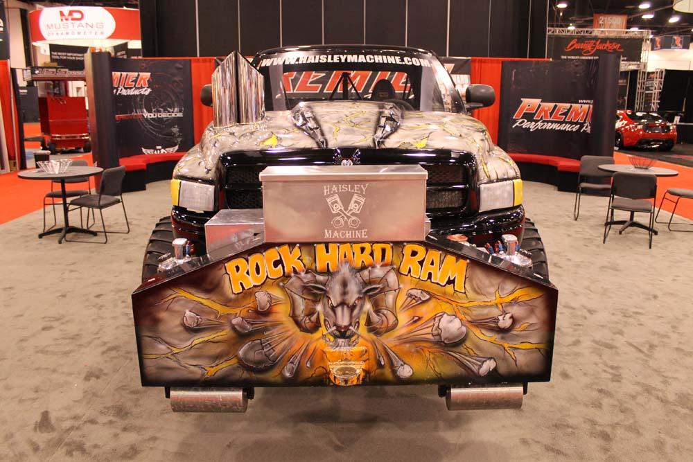 Rock Hard Ram at SEMA!