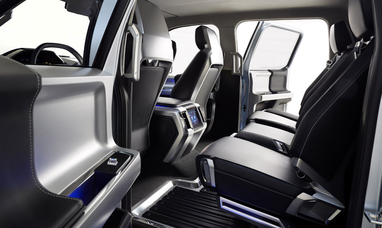 ford unveils f 150 atlas concept at detroit auto show. Black Bedroom Furniture Sets. Home Design Ideas
