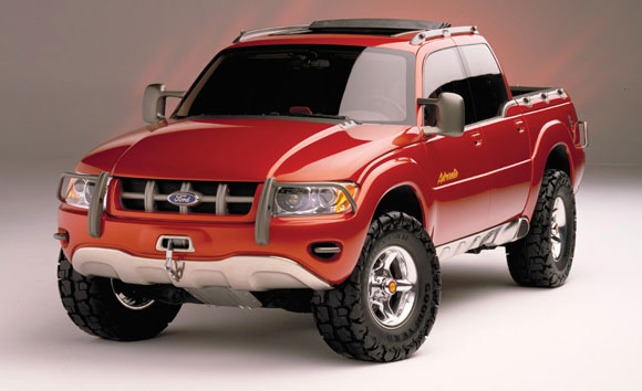 ford adrenalin concept ford truckscom