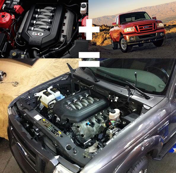 Florida Performance Shop Jams V8 into Ranger Chassis ...