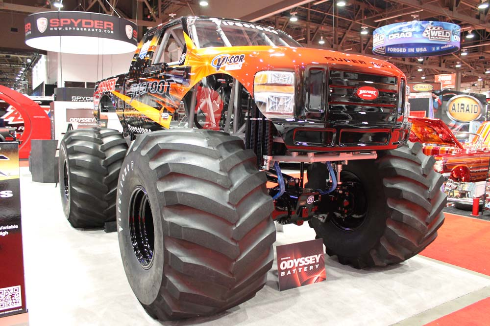 Battery Powered Bigfoot at SEMA