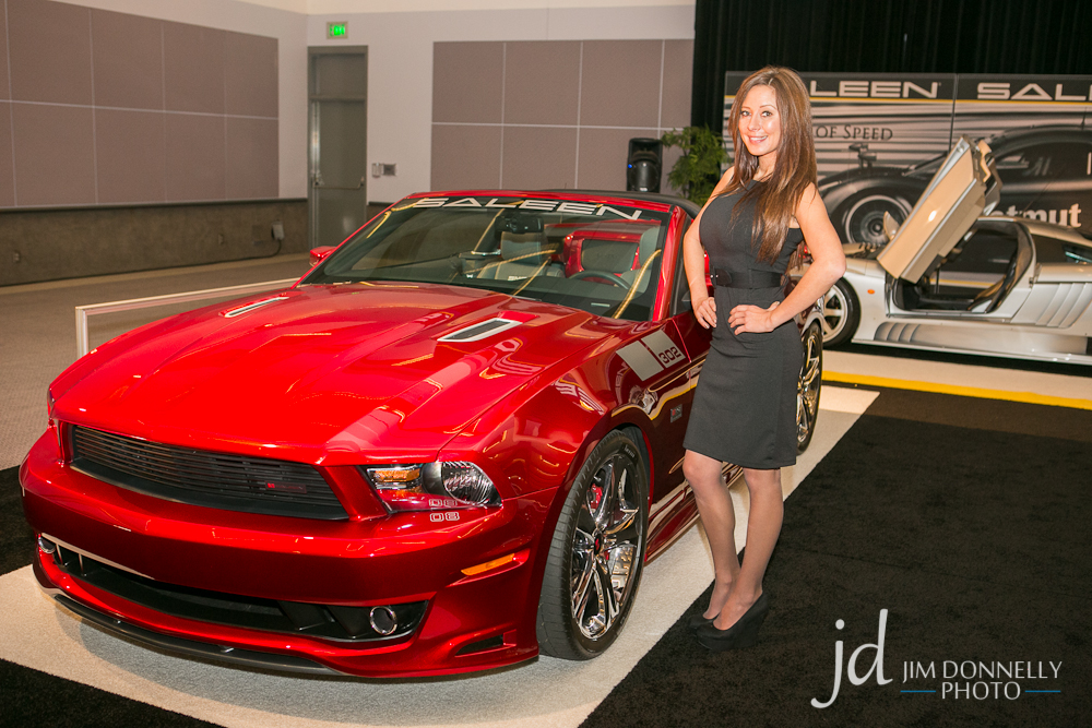 Booth Ambassadors of the Los Angeles Auto Show