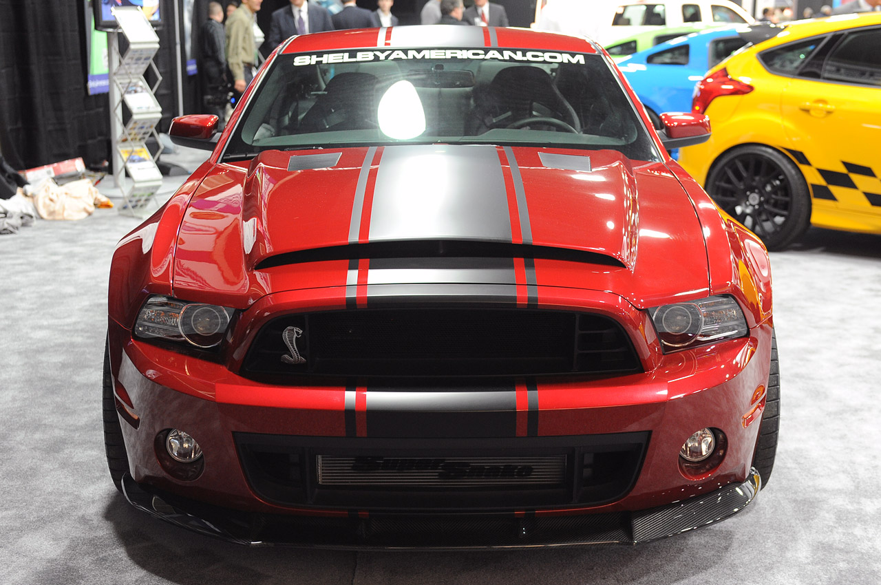 2013 Shelby GT500 Super Snake Widebody Debuts At Detroit