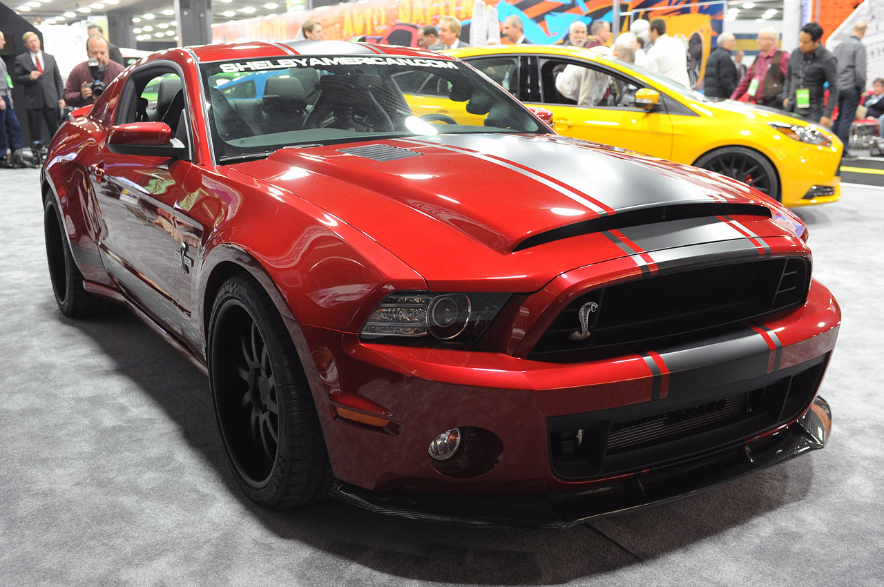 2013 Shelby GT500 Super Snake Widebody Debuts At Detroit ...