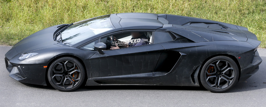Spied Lamborghini Aventador Roadster Teamspeed Com
