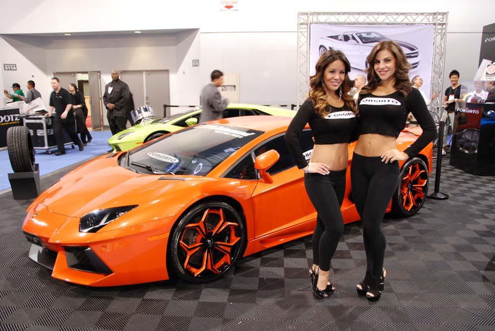 The Lovely Ladies Of Sema 2012 Corvetteforum