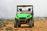 Driving Kawasaki's Teryx4 on the Gorgeous Trails of Mountain Shasta