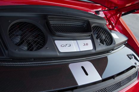 2014 Porsche 911 GT3 Engine