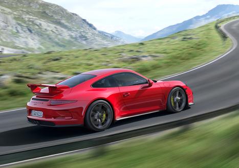 2014 Porsche 911 GT3 Side