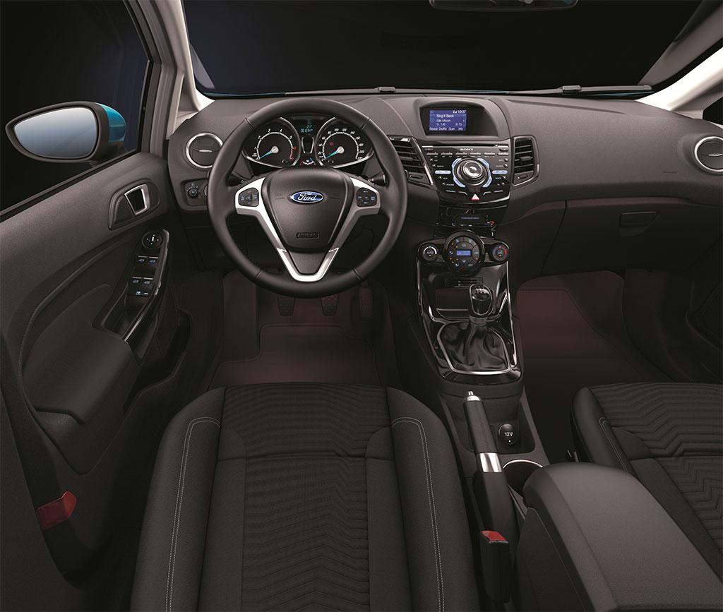 2014 Ford Fiesta EcoBoost 1.0 Interior