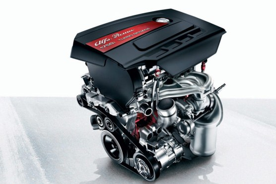 2015 Alfa Romeo Giulia Engine