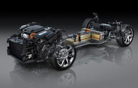 2014 Cadillac ELR Powertrain