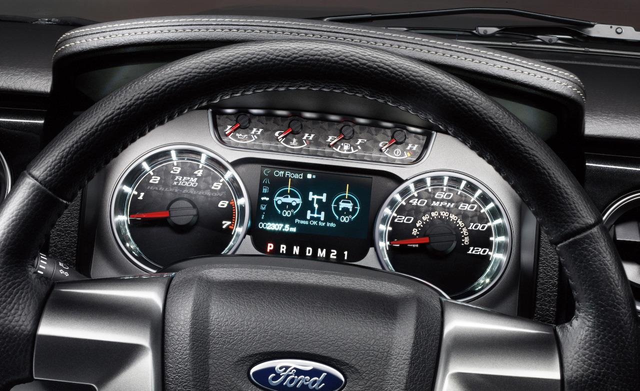 2015 ford f-150 cluster