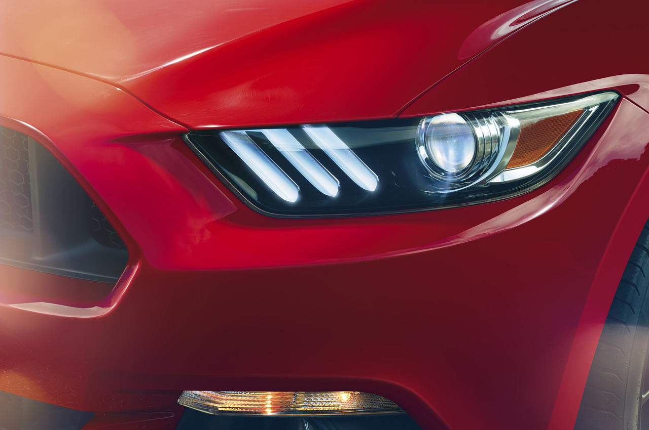 2015 ford mustang LED headlight