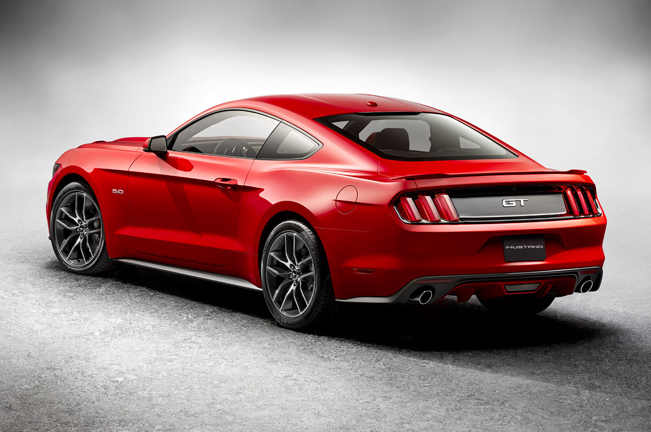 2015 ford mustang rear quarter