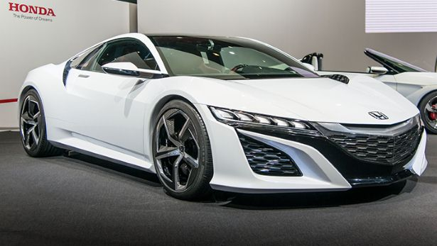 2015 Acura NSX - quarter view