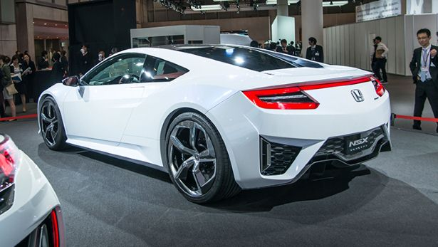 2015 Acura NSX - rear view
