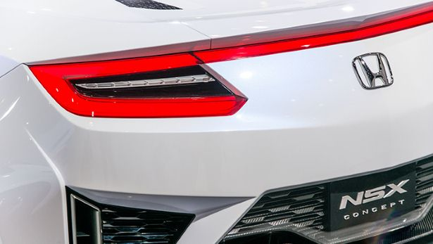 2015 Acura NSX - Taillight View