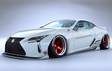 Daily Slideshow: Liberty Walk Debuts Two Kits for the LC 500