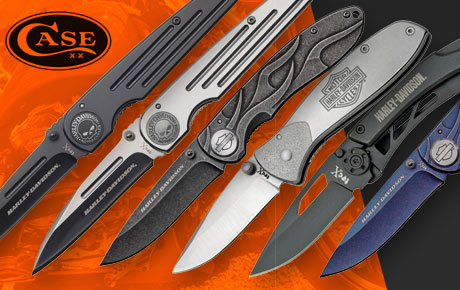 Harley-Davidson Case knives by Uppercut Tactical