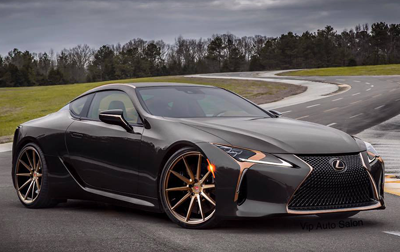 Hot or Not? The LC 500 in Black and Bronze