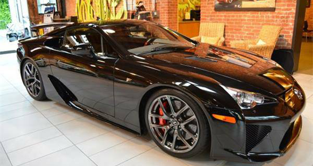This Lexus LFA Can Be Yours for Less Than MSRP