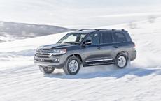 Land Cruiser Beats Three-Way SUV