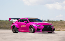 Lexus RC F Build Up for Grabs
