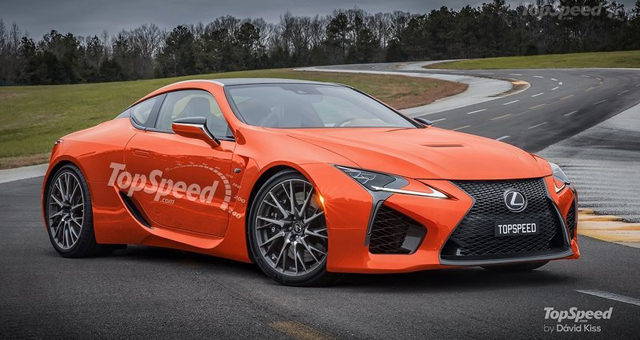 Lexus LC F Would Pack Quite a Punch