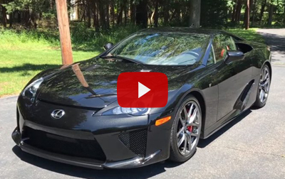 Rare $400K Lexus LFA in Action: The Sound of Awesomeness