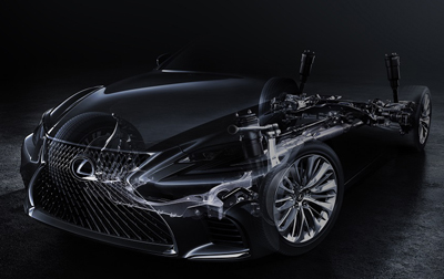 Lexus LS Safety Details Revealed at Japanese Debut