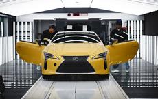 Watch Artisans Assemble the Lexus LC
