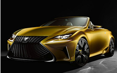 Lexus LC Convertible for Production?