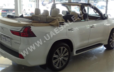 The LX570 Cabriolet You Never Dreamed Of