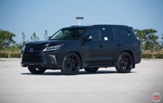 Tuner Gives LX 570 One Menacing Makeover