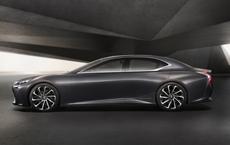 Lexus Previews Next LS With LF-FC Concept