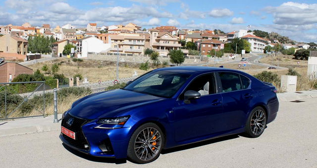 First Drive of the 2016 Lexus GS F