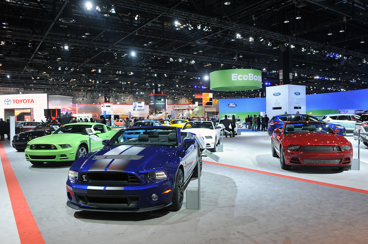 Mustangs At The 2013 Chicago Auto Show