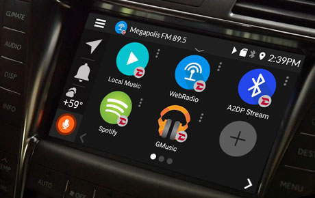 Maps and Apps for your Lexus with VLine