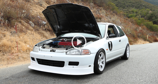 Type R Swapped Civic Driven