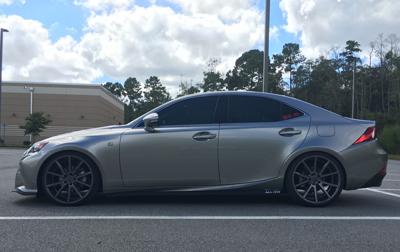 Lexus IS Turns Graphite Into a Precious Metal