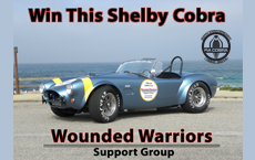 Wounded Warriors Charity Raffle Car