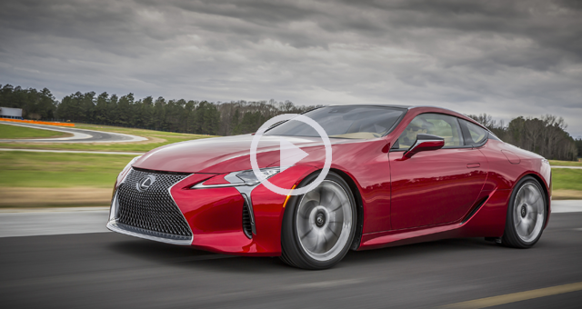 Behold the Glory of the Lexus LC 500: Video