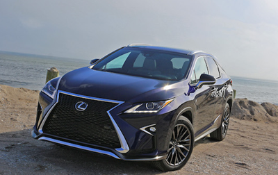 Must Know 2016 Lexus RX350 Facts