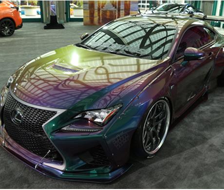Modified Lexus Vehicles Hit Los Angeles Auto Show Gallery