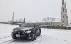 REVIEW: 2017 Lexus NX 300h Tackles Winter